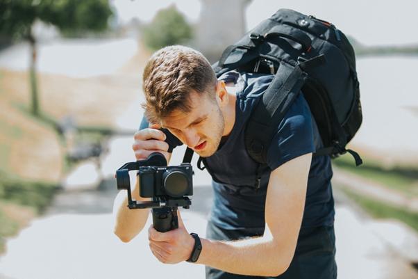 Camera stabilizer gimbal