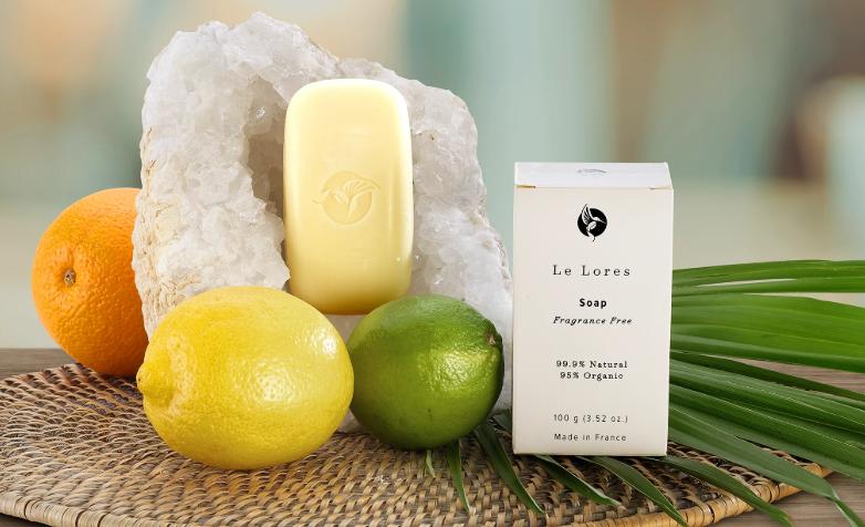 le lores organic soap