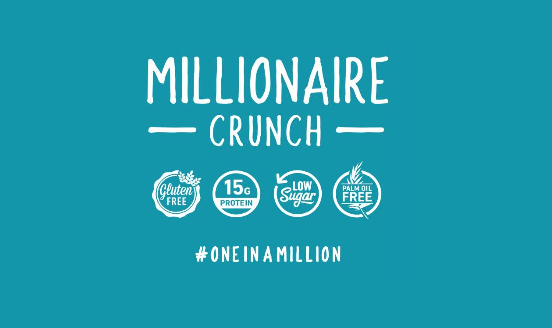 millionaire crunch bar