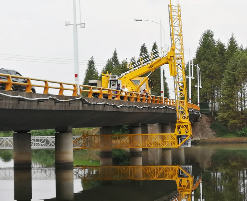 under the bridge vehicle